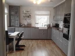 ikea bodbyn gray kitchen cabinets bittelillevilla ikea kjøkken kjøkken interiør drømmekjøkken
