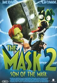 maske 2 son of the mask 2005 dvdrip film afis movie poster
