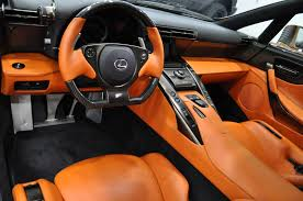 lexus lfa interior lexus lfa in pearl brown is a real one of one u2013 clublexus