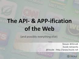 slideshare api the api and app ification of the web