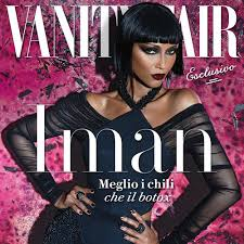 Kim Kardashian Vanity Fair Cover Editorials Iman Covers Vanity Fair Italia Superselected