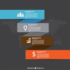 business plan infographic vector free download