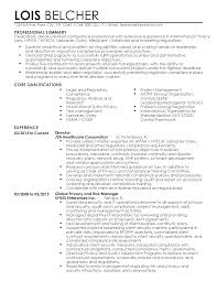summary and qualifications resume professional compliance professional templates to showcase your professional summary