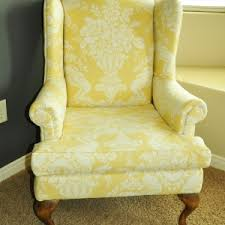 Wingback Chair Slipcover Pattern Furniture Eclectic Living Room With Wing Chair Slipcover