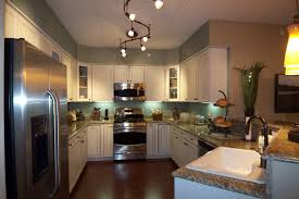 kitchen lighting ideas over sink over sink two easy kitchen track lighting ideas to apply directly