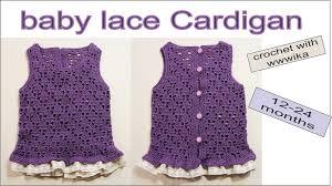 kã chenlen design how to crochet jacket baby cardigan baby sweater design part1