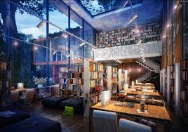 modern home library interior design library inspiration