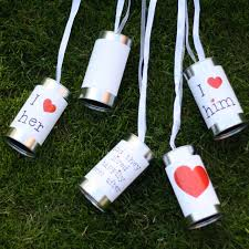 and tin cans for wedding cars u2013 wedding my dreams
