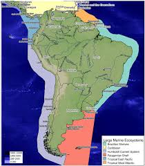 Map Of The Caribbean Map Of South America Defining The Five Subregions As Analyzed In
