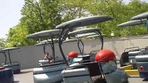Golf Cart Flags Fiddler U0027s Fling Off Ride Trip 1 Six Flags Great America 2011 Youtube