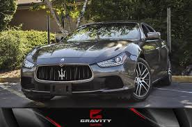 used maserati ghibli 2014 maserati ghibli ghibli stock 124963 for sale near atlanta