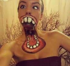30 best crazy face tattoos images on pinterest face tattoos