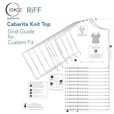 patterns riff cabarita knit top