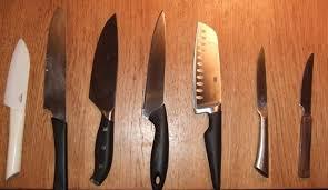 Basic Kitchen Knives Using A Knife Master Basic Skills Kitchen Aim