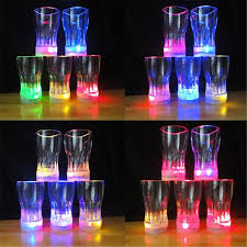 glow in the cups 2018 sale gafas led wedding dress 24pcs lot new attractive cups