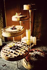cake love homemade wedding pies with lattice tops and piles of