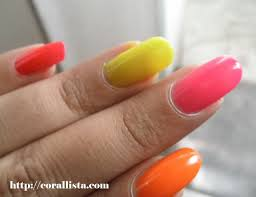 cocktail inspired neon candy nail paints from colorbar u2013 corallista
