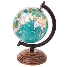 Decorative World Map Sass U0026 Belle Decorative World Map Swivel Globe Sass U0026 Belle From