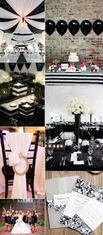 black and white wedding ideas 23 classic black and white wedding ideas elegantweddinginvites