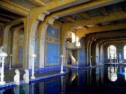 hearst castle pools neptune pool and roman pool