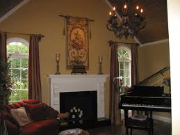 room peerless curtain living room with oil rubbed bronze curtain