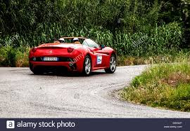 Ferrari California Old - ferrari california old racing car in rally mille miglia 2015 the