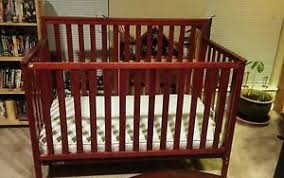 Baby Crib Convertible Convertible Baby Crib Used For A Month Converts To Todler