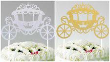 cinderella carriage cake topper fairy cake topper ebay