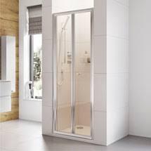 Shower Folding Doors Bi Fold Shower Doors Folding Shower Door Plumbing