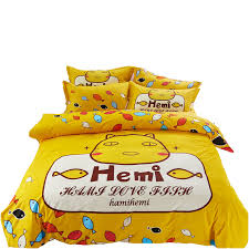 Yellow Patterned Duvet Cover Popular Yellow Patterned Duvet Covers Buy Cheap Yellow Patterned