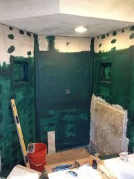 Waterproof Plaster For Bathroom Custom Shower Construction Shower Remodel Austin Tx South