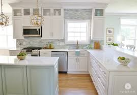small kitchen remodel with white cabinets coastal kitchen makeover the reveal