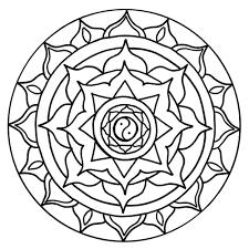 mandala para colorir chakras pesquisa google mandalas intended