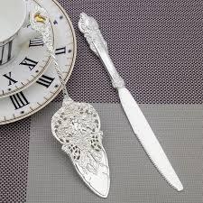 2017 new 2016 european wedding cake shovel steak knife fork