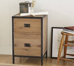 lincoln 2 drawer file cabinet pottery barn