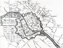 Map Of Berlin Germany by Berlin A Map Of 1737 The Fortified Medieval City Has Been