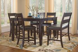 Dining Room Counter Height Tables Lincoln Counter Height Table With 4 Counterstools And