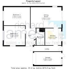2 bedroom detached bungalow for sale in cambridge close lawn