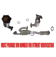 nissan altima 2005 overheating front converter and rear flex pipe converter for nissan altima