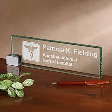 Name Plate Desk Personalized Desk Nameplate Medical Practice Design