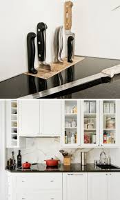 Kitchen Countertop Material by Kitchen Design Idea Include A Built In Knife Block Contemporist