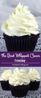 how to decorate a cake at home the best whipped cream frosting two sisters