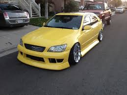 lexus is 300 kit mbn lexus is300 bodykit 1998 2005 fineline tuning