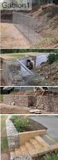 Retaining Wall Garden Bed by Best 25 Gabion Retaining Wall Ideas On Pinterest Gabion Wall