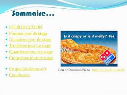 rapport de stage 3eme cuisine stage en entreprise rochdi drissi chadli 3eme ppt