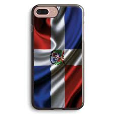 Dominican Republic Flag Dominican Republic Flag Drop Apple Iphone 7 Plus Case Cover