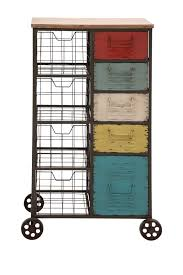 Storage Furniture They Sell These At Gordmans Multicolor Metal Wood Storage Cart