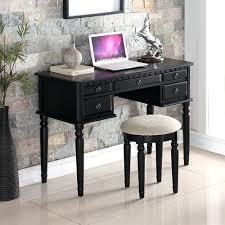 Black Writing Desk With Hutch Black Writing Desk Place Black Desk Black Writing Desk Australia