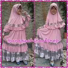 Baju Muslim Dewasa Ukuran Kecil bunga zahira ol shop baju muslim anak dan dewasa