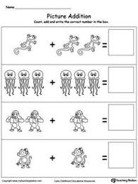 addition with pictures dinosaur math skills worksheets and math